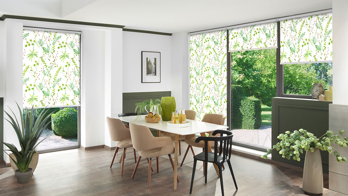 Рулонні штори - сучасна альтернатива