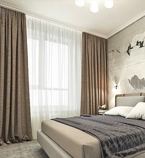 купить красивые шторы в спальню дизайн штор для спальни модели