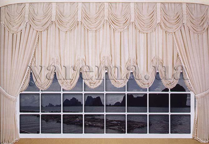 Aвстрийские шторы фото